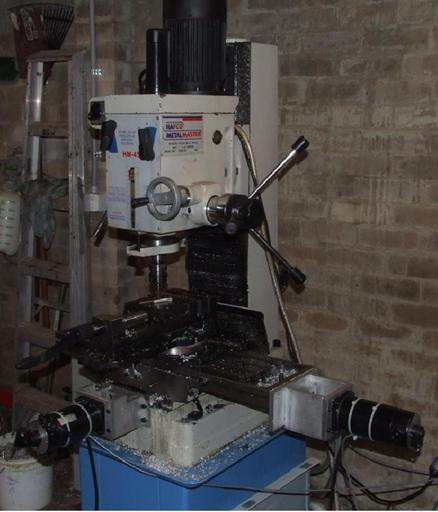 RF45 milling machine CNC conversion